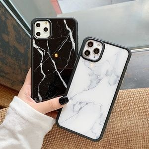 NEW iPhone 11/Pro/Max Anti-Knock Marble case